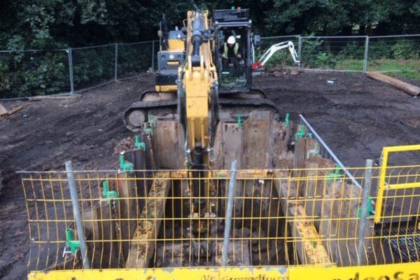 Excavation using Sheet Piles