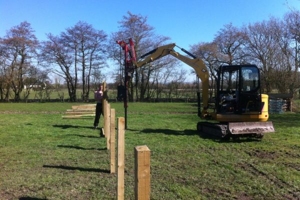 Post and Rail Fencing 2