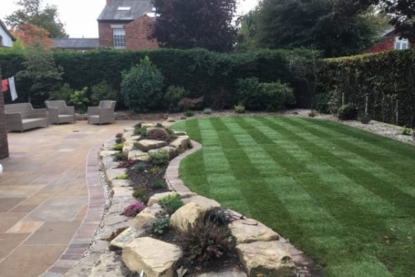 Turfing and Paving