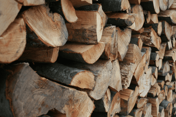 firewood and mulch